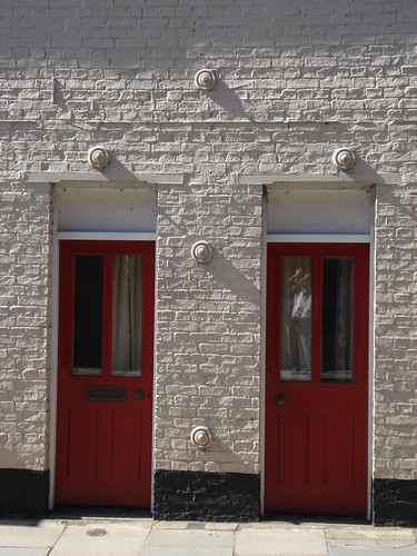 Two Red Doors