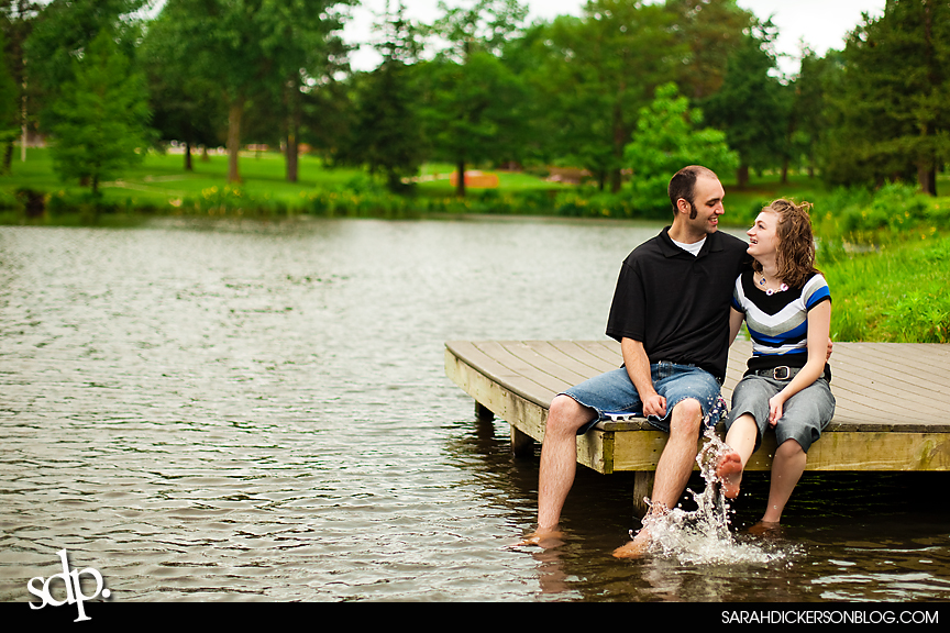 Topeka engagement photographer, Gage Park images