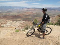 Gooseberry Mesa North Rim Overlook (Jeff Dyck) Tags: utah desert hurricane biking mountainbiking viewpoint mesa gooseberry northrim gooseberrymesa jeffdyck