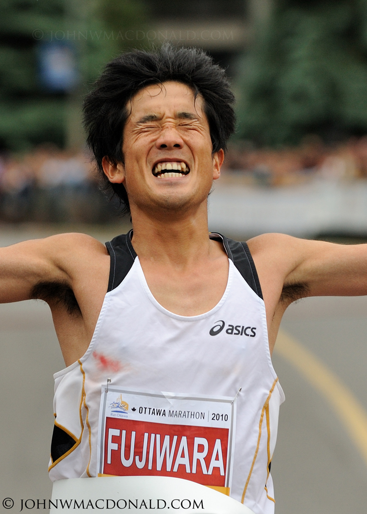 Arata Fujiwara - Ottawa Marathon Winner