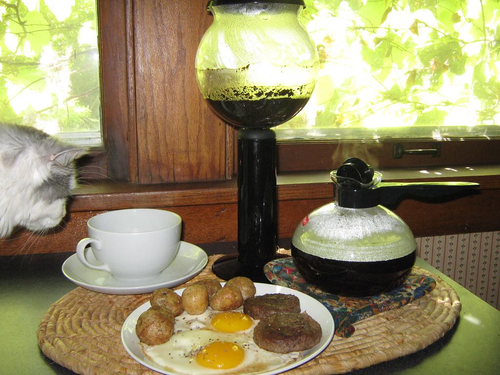 Joy of Cooking: Recipe 2, Vacuum-Method Coffee