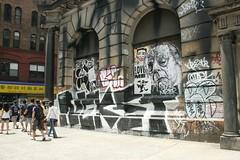 Nekst Gaia (carnagenyc) Tags: nyc streetart newyork bein msk gaia rambo moral adek loveme nekst joeyci