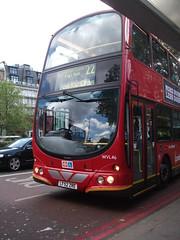 Go Ahead London WVL46 LF52ZRE Volvo B7TL Wright Gemini (chrisbell50000) Tags: bus london ahead volvo general go double deck wright gemini decker goahead b7tl wvl46 lf52zre chrisbellphotocom