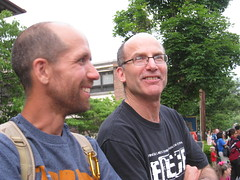 Ithaca Festival Parade: George and Warren