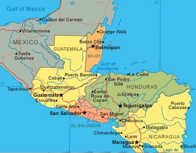 CENTRAL-AMERICA-MAP