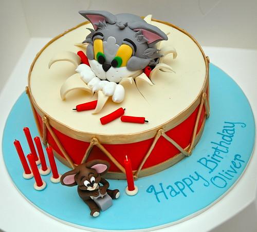 Oliver's Birthday cake