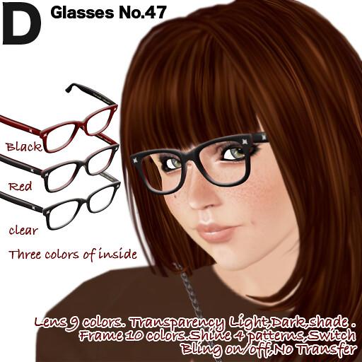 Glasses No.47