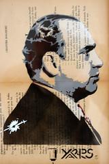 Yarps (dprezat) Tags: street urban paris art painting stencil tag graf peinture aerosol alcapone bombe scarface pochoir yarps sonyalpha700