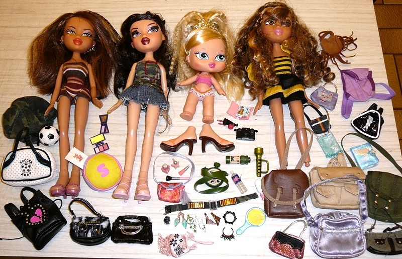 Bratz Market Purchases! Today the 6th of June, 2010!!!