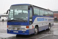 Washington Coaches, CAZ2747. (EYBusman) Tags: park west bus washington coach yorkshire tiger group royal tyne wear east riding independent roe coaches bridlington leyland doyon eybusman e53tyg caz2747