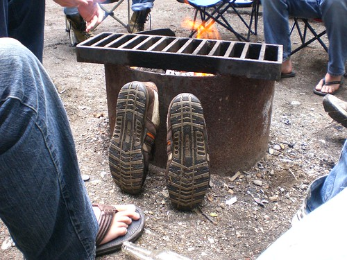 The Burning of the Shoes