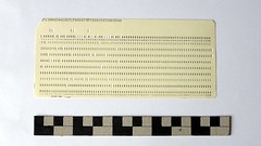 Standard IBM 5081 Punch Card