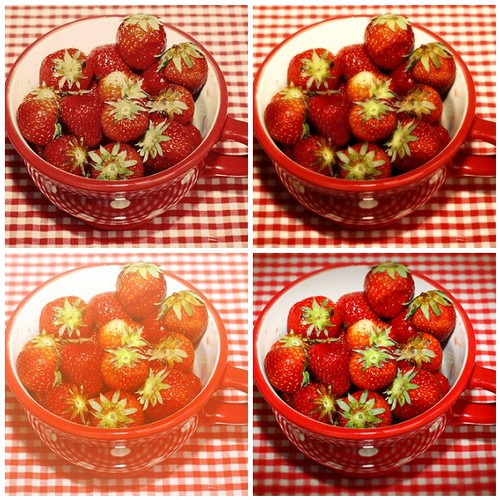 Strawberries tests by you.