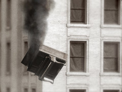 Falling Burning Piano (Jeff Desom) Tags: vintage piano falling burning 1920 hauschka jeffdesom