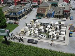 New Orleans Lego Graveyard