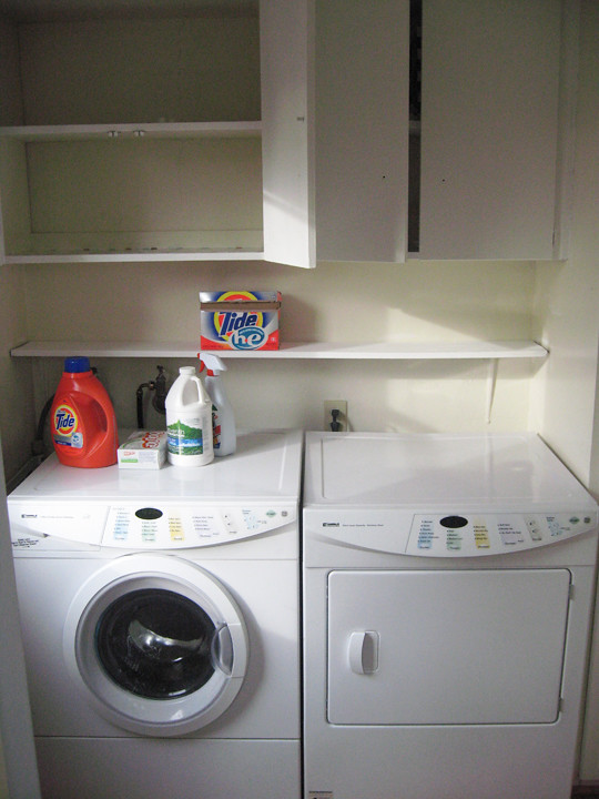 laundry room -after
