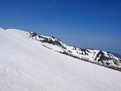 西暑寒別岳から伸びる尾根