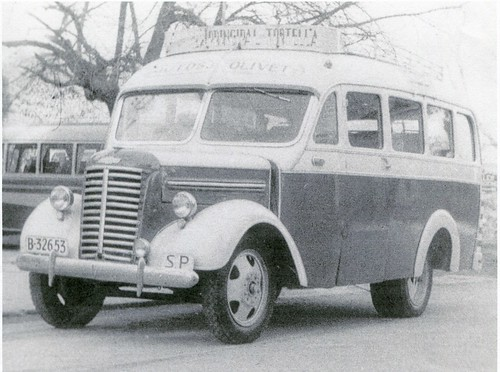 Autocar Chevrolet de l'empresa OLIVET