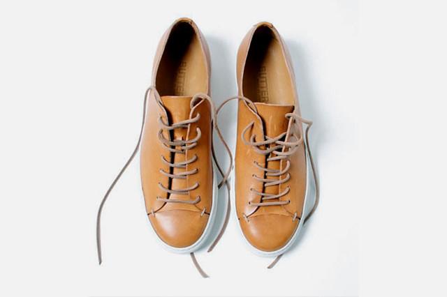 01 Buttero leather sneaker