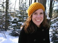 Knit Mustard Yellow Rib Hat (JJCrochet) Tags: winter hat knitting patterns crochet womens knitted knithat crochetedhat accessory