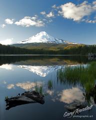 Reflection (Gary Randall) Tags: mountain lake reflection oregon mthood mounthood trilliumlake garyrandall pamounthood dsc51262