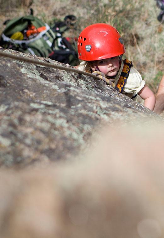 Liana-climbing