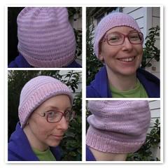 Stripy cap