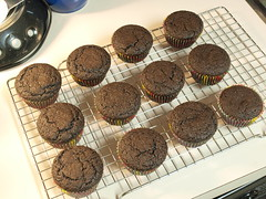 Chocolate Cardamom Cupcakes with Chocolate Cream Cheese Frosting