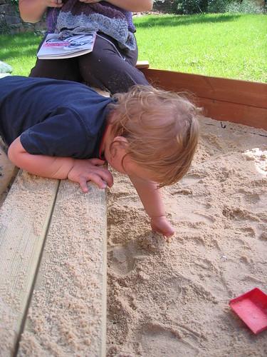 Sand. Pit.