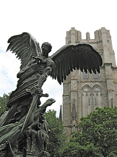 Angel & cathedral