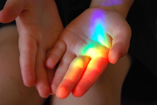 Chasing the rainbow.