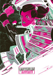 AnyForty vs. Matt Taylor (MatthewJamesTaylor) Tags: illustration ink bristol japanese drawing patterns brush armor sword samurai vector versus matttaylor anyforty