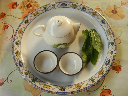 Tea at my parents home