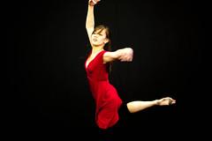 Beautiful Dancer Stephanie attitude pose