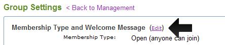 Administrare minimală a grupurilor de discuţii Yahoo