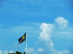 Wavin' flag. (Maria Luisa Borin) Tags: brazil bandeira brasil flag cubrasileiro wavinflag