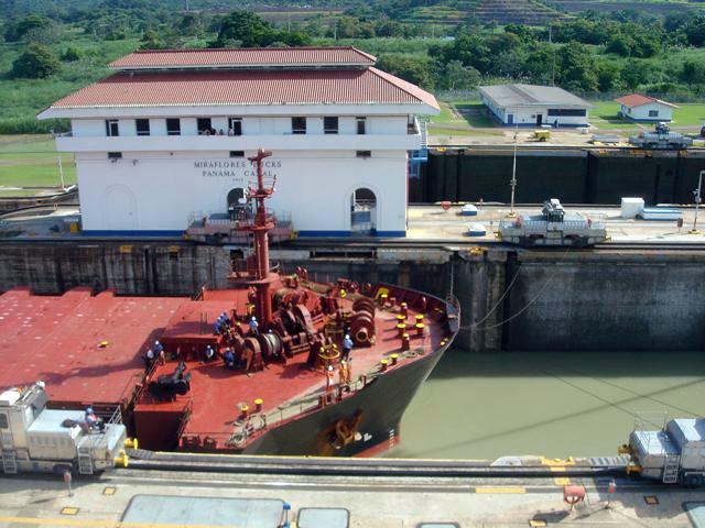 Canal de Panamá: Eclusas de Miraflores