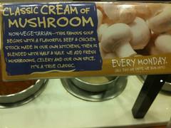 Sweet Tomatoes Cream of Mushroom soup