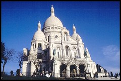 Parigi, anno 1996 - Basilica del Sacro Cuore (Photoscan) (giovanni_novara) Tags: paris france church 1996 montmartre scan chiesa francia ohhh parigi chiese photoscan basilicadelsacrocuore scandadia