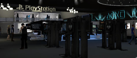 Sony Booth in PlayStation®Home