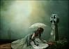 Lost Without You (violscraper) Tags: grave daisies cross victorian parasol poppies unbrella pareeerica artuniinternational