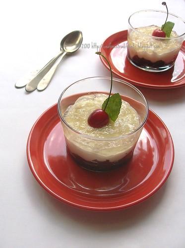 Goloso di ciliegie in gelatina al miele e aceto balsamico