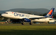 TC-OBH  Onur Air (Gerry Hill) Tags: bridge sunset turkey river scotland airport nikon edinburgh aircraft aviation air hill almond escocia images aeroplane airline airbus flughafen boathouse aeropuerto edimburgo flugplatz edynburg szkocja avion gerry airfield departing a320 onur vliegtuig aviacion luchthaven dalaman ingliston skottland d90 turnhouse egph d80 almondbank iskoya a320233    tcobh