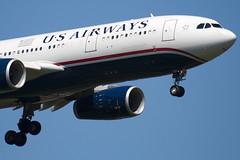 N283AY - 1076 - US Airways - Airbus A330-243 - 100617 - Heathrow - Steven Gray - IMG_4150