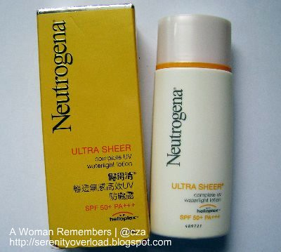 neutrogena ultra sheer, Neutrogena Ultra Sheer Complete UV Waterlight Lotion, sunblock, sunscreen