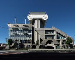 M2 (MEMOREAD TOKYO): Kengo Kuma, Tokyo, Oct. 1990 (wakiiii) Tags: japan architecture s5pro