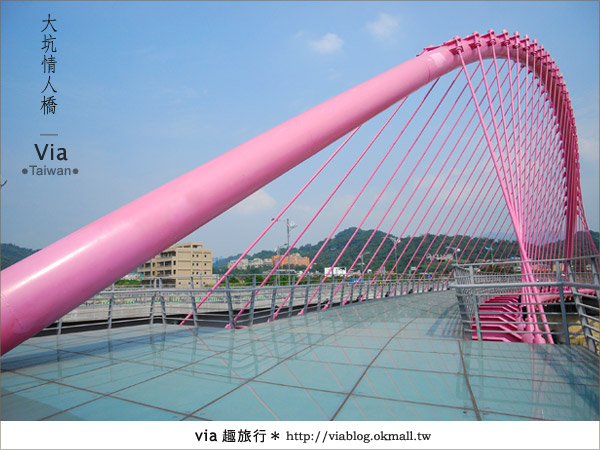 【大坑情人橋】新的台中約會景點~浪漫粉紅色情人橋