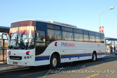Philtranco Clark airport shuttle