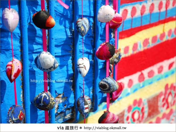 【台中】via再訪色彩繽紛的國度~台中彩虹眷村15