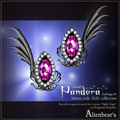 Pandora earrings S4 pink